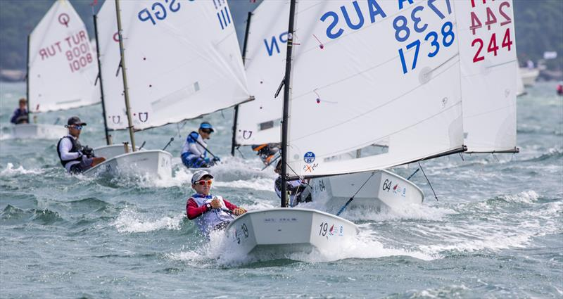 2017 Optimist Asian and Oceanian Championship day 5 photo copyright 2017 Optimist Asian & Oceanian Championships / Guy Nowell taken at Royal Hong Kong Yacht Club and featuring the Optimist class