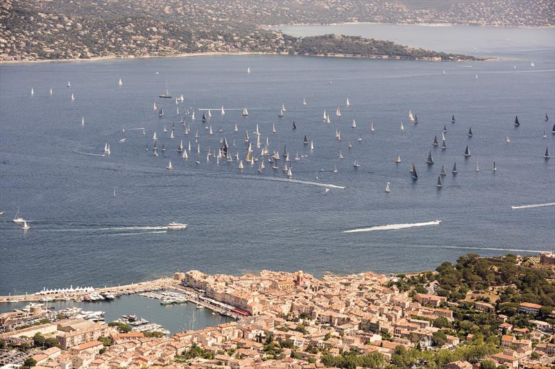 The fleet on day 1 of the 2017 Giraglia Rolex Cup in Saint-Tropez - photo © Rolex / Kurt Arrigo