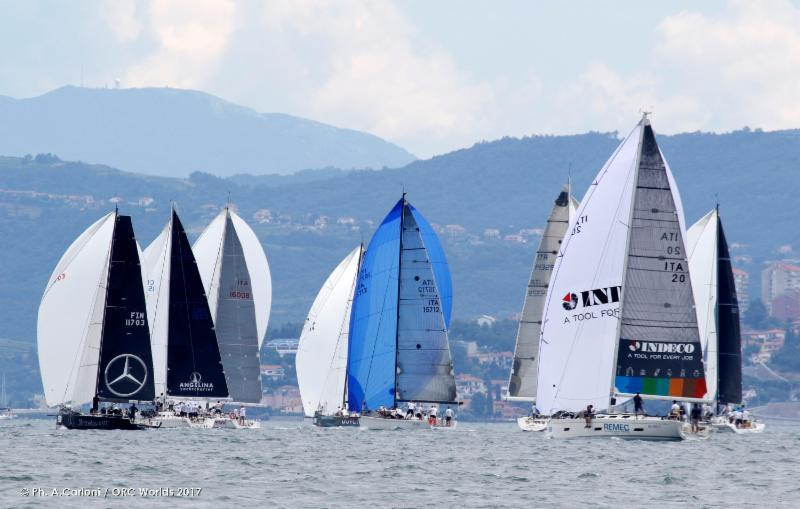 Perfect practice breeze kept the action close on the ORC World Championship practice day - photo © Andrea Carloni