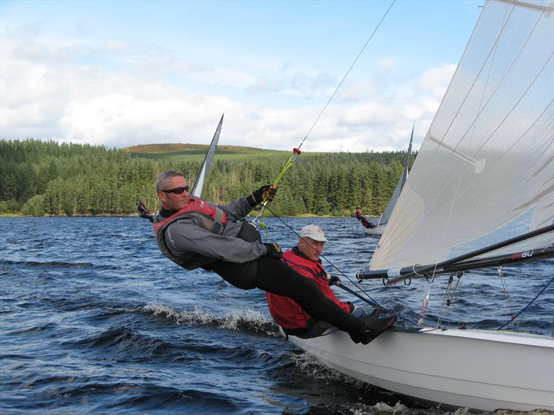 Rob Shaw and Ian Little, Osprey champions at the Kielder Water September Open - photo © John Scullion