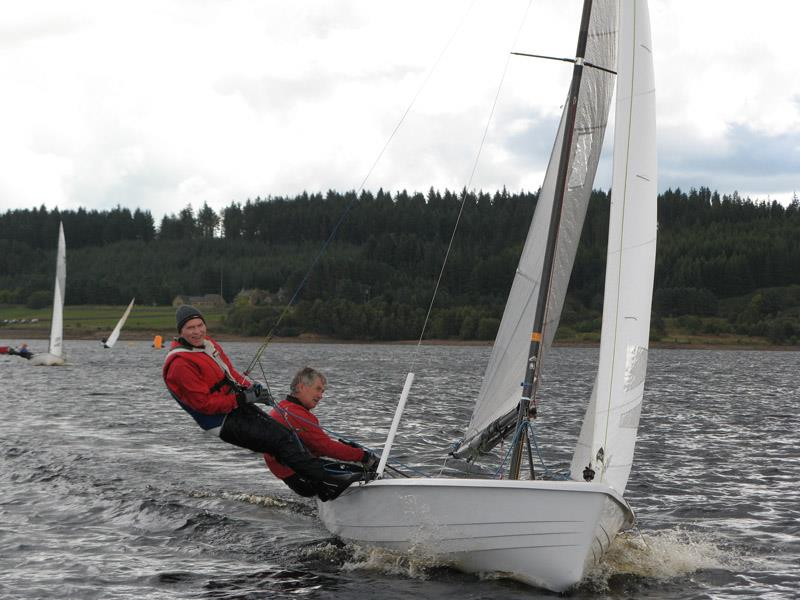 Alan Henderson and Alastair Barrie win the Osprey Scottish & Northern Championship at Kielder Water - photo © Judy Scullion
