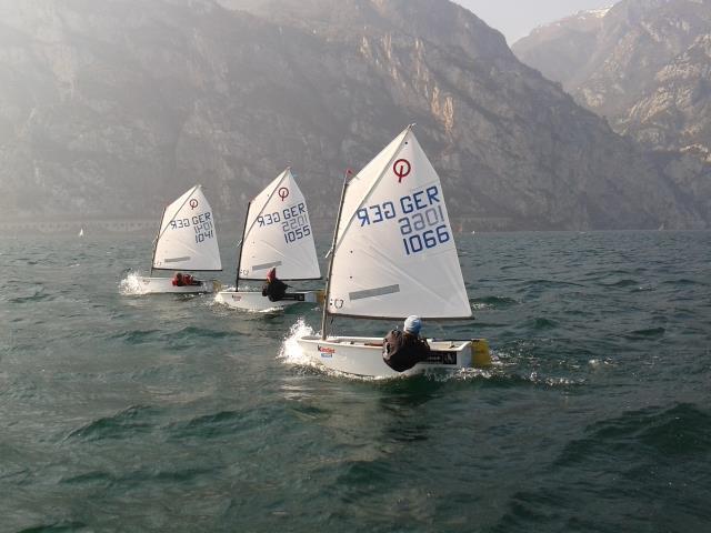The Ovi Optimist - photo © Ovington Boats