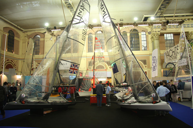 RYA Volvo Dinghy Show 2012 photo copyright Mark Jardine taken at  and featuring the  class