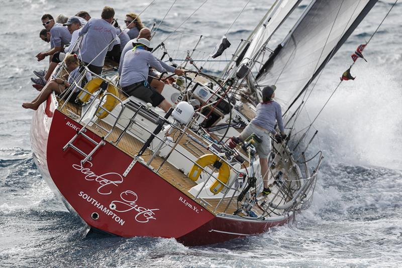 - Ross Applebey's Oyster 48, Scarlet Oyster wins the Peters & May Round Antigua Race - photo © Paul Wyeth / www.pwpictures.com