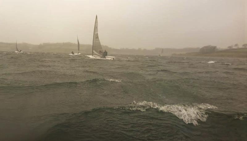 Fierce winds for the Wimbleball Phantom Open - photo © Emma Stevenson