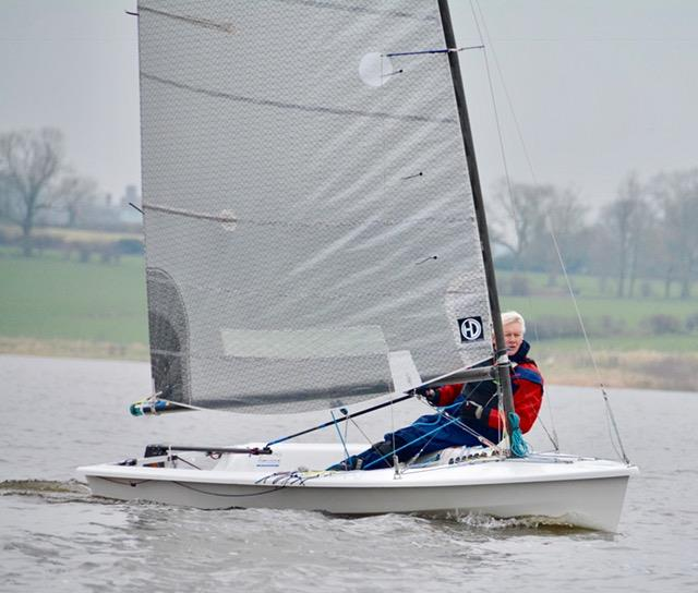 Blithfield Barrel Winter Series 2017-18 Round 3 photo copyright Iain Ferguson taken at Blithfield Sailing Club and featuring the Phantom class