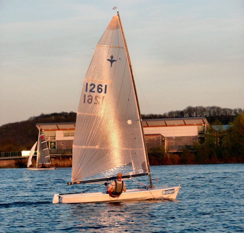 The Wednesday Series starts at Attenborough Sailing Club photo copyright Nick Marlow taken at Attenborough Sailing Club and featuring the Phantom class