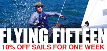 10% off f15 Sails!