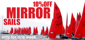 10% Off Mirror Sails!