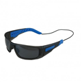 Forward EVO Polarised Sunglasses - Matt smoke grey with blue grips