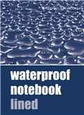 Waterproof Notebook Lined
