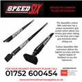 Technical Marine Supplies - SpeedSix - Speedstix Carbon Tiller Extensions