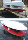 Dinghy Stacker For Towing - Laser or Topper