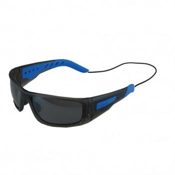 Forward EVO Polarised Sunglasses - Matt smoke grey with blue grips