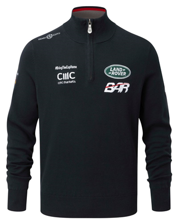 Land Rover BAR Team Half Zip Knit Top