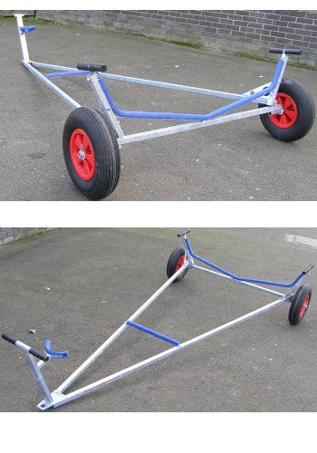 Trident Gunwhale Hung Laser Trolley