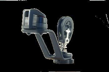 Allen A5166Assembled - Aluminium Arm Mainsheet Jammer