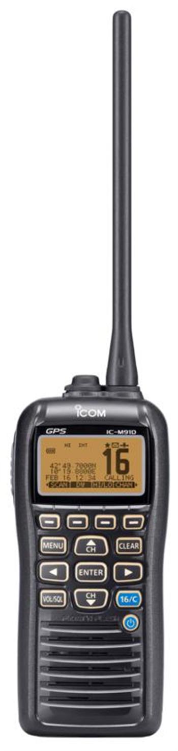 ICOM IC-M91D Buoyant VHF/DSC Handheld with GPS