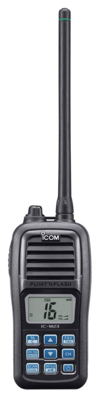 ICOM IC-M23 Buoyant VHF Marine Transceiver
