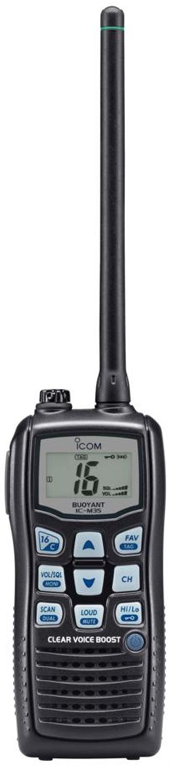 ICOM IC-M35 Buoyant VHF Marine Transceiver