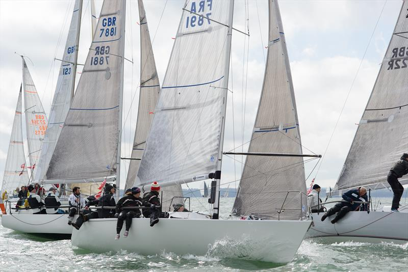 Bullit and Tiger in IRC4 on weekend 1 of the Crewsaver Warsash Spring Championship - photo © Iain McLuckie
