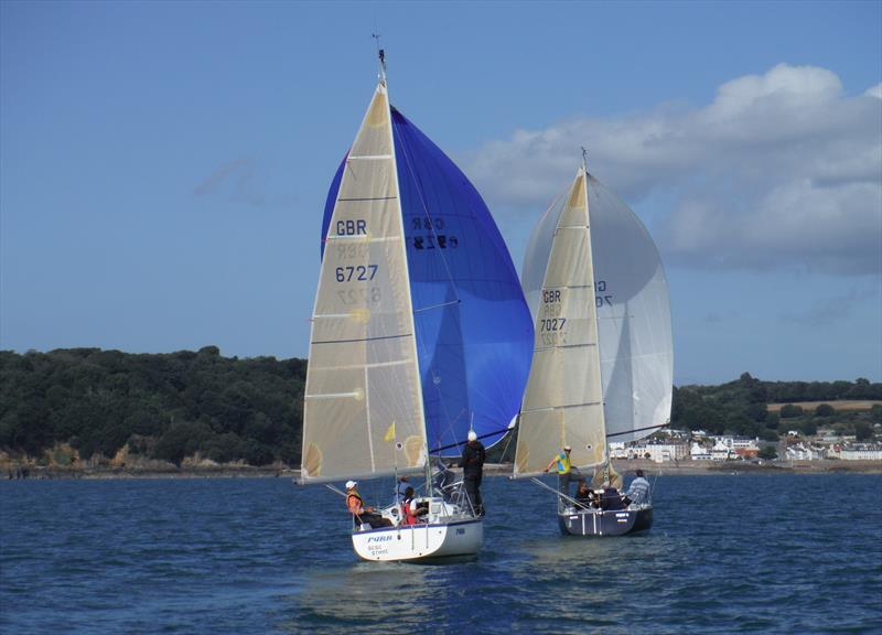 2Farr and Super Q during the UBS Jersey Regatta - photo © Bill Harris
