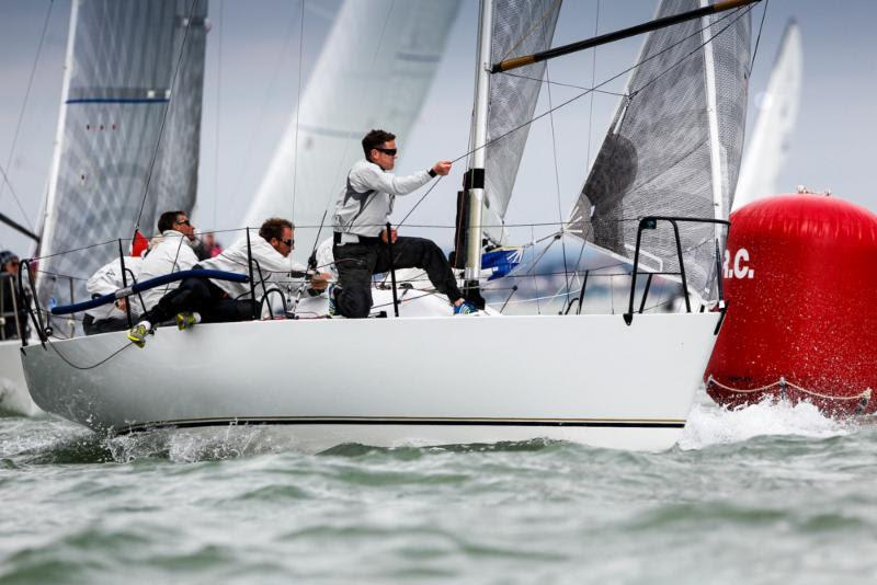 IRC Three winner, Sam Laidlaw's Quarter Tonner, Aguila at the RORC Easter Challenge - photo © Paul Wyeth / www.pwpictures.com