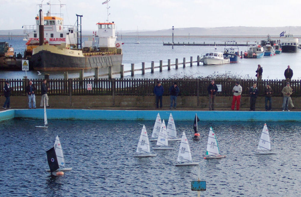 Rc Laser New Years Eve Regatta At Lymington