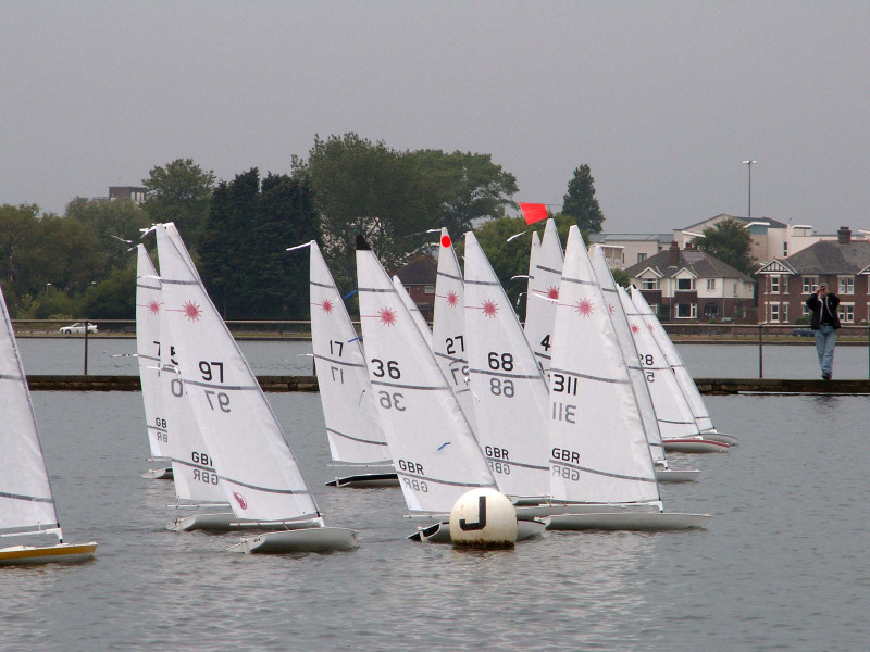 Rc Laser Nationals At Poole Radio Yacht Club