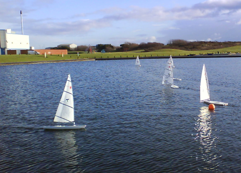 A Great Day S Sailing At The Irvine Pond For The Rc Lasers
