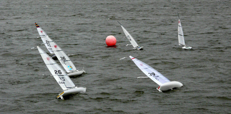 Rc Laser Winter Tt Series At Southport Sailing Club