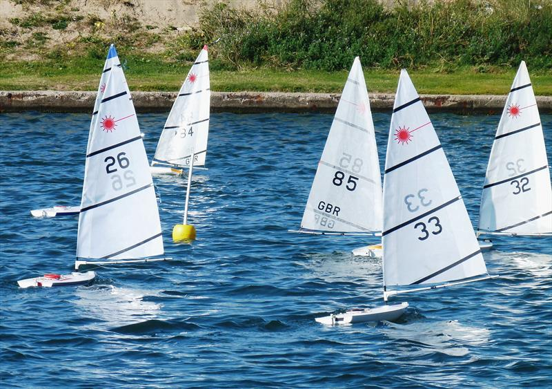 Rc Laser Northern Summer Series At West Lancashire Yacht Club