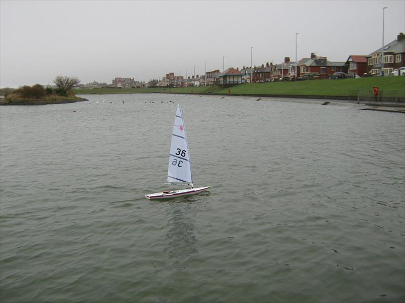 RC Laser Spring Series Round 1 at Fleetwood photo copyright Tony Wilson taken at Fleetwood Model Yacht Club and featuring the RC Laser class