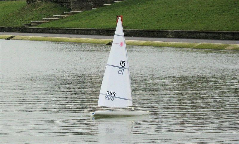Rc Laser Fleetwood Model Yacht Club Spring Series Day 1