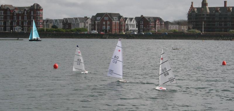 RC Laser Northern Summer Series Round 1 at Southport - photo © Dave Fowler