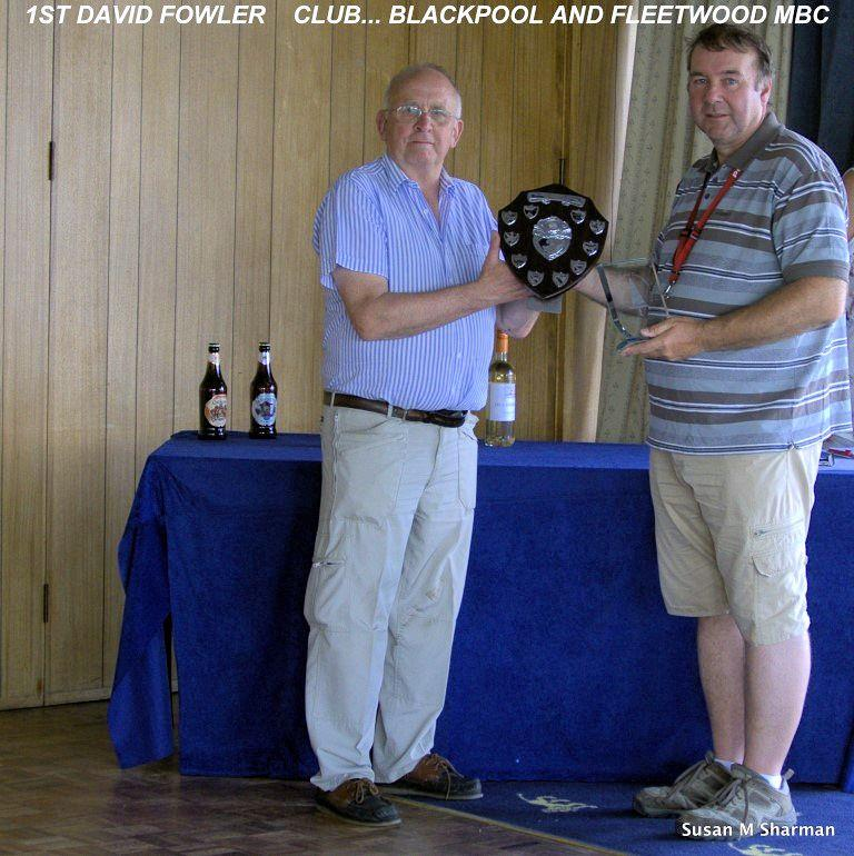 Dave Fowler wins the RC Laser National Championships at West Lancs photo copyright Susan Sharman taken at West Lancashire Yacht Club and featuring the RC Laser class