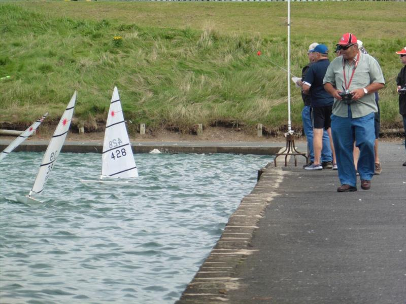 RC Laser Northern Summer Series and TT at Fleetwood photo copyright Peter Isles taken at Fleetwood Model Yacht Club and featuring the RC Laser class