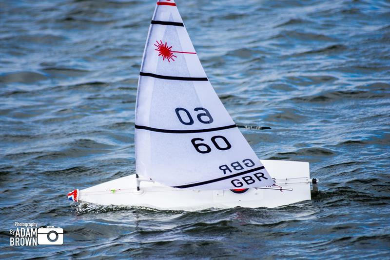 RC Laser TT at Ardleigh photo copyright Adam Brown taken at Ardleigh Sailing Club and featuring the RC Laser class