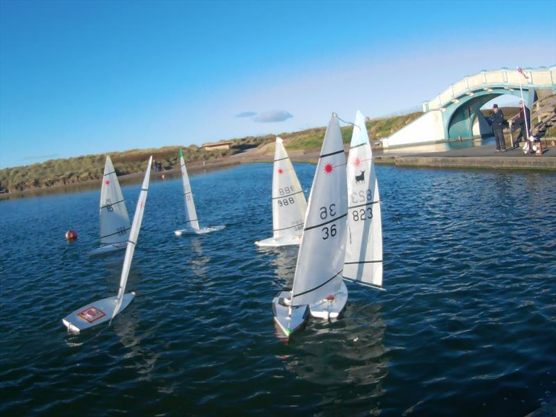 RC Laser Northern Autumn Series day 2 photo copyright Tony Wilson taken at Fleetwood Model Yacht Club and featuring the RC Laser class