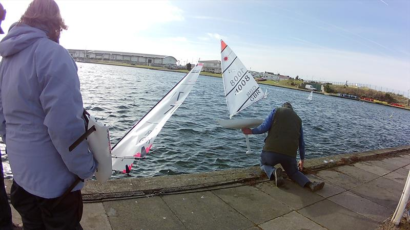 West Lancs RC Laser and DF65 Winter Series Round 4 - photo © Tony Wilson