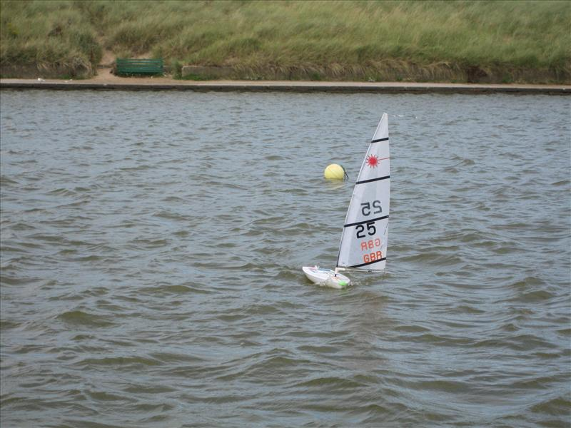 Rc Laser Northern Travellers At Fleetwood Model Yacht Club