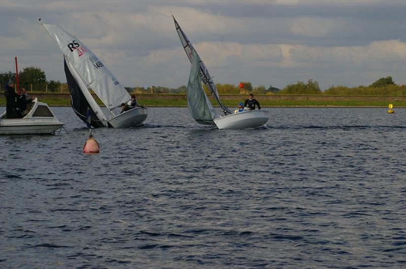 Tight finish during the RS200 SEAS Series Finale at Island Barn - 1 - photo © Jim Champ