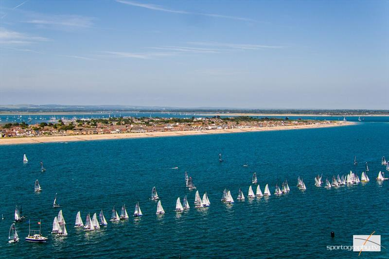 RS Sailing Summer Championships at Hayling Island - photo © Alex Irwin / www.sportography.tv