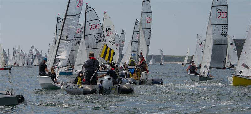 Volvo Noble Marine RS200 Nationals at Tenby - photo © Alistair Mackay