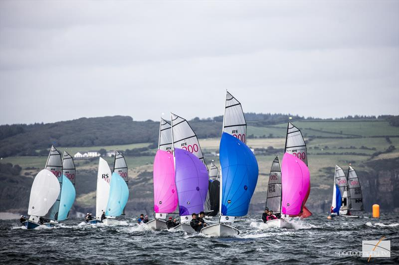 Volvo Noble Marine RS200 Nationals at Tenby - photo © Alex & David Irwin / www.sportography.tv