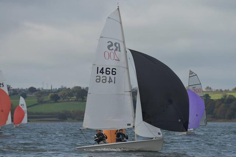 2ndhanddinghies RS200 SW Ugly Tour visits Chew Valley Lake photo copyright Errol Edwards taken at Chew Valley Lake Sailing Club and featuring the RS200 class