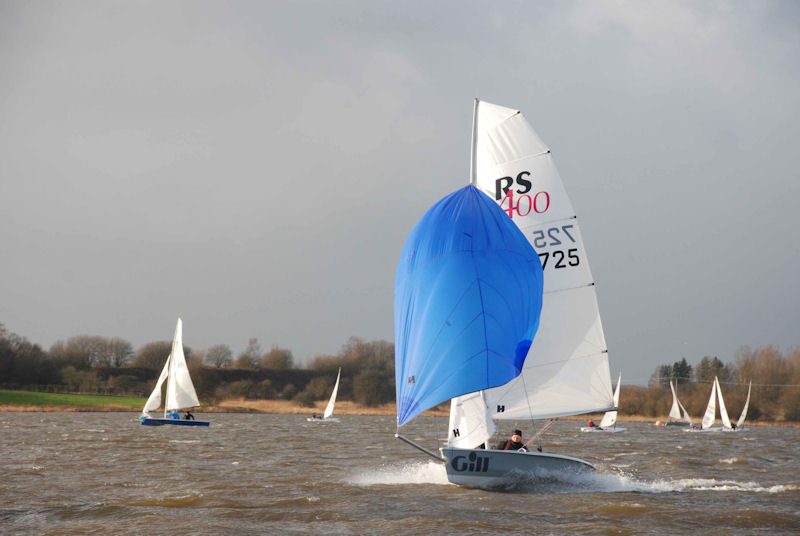 Tipsy Icicle Series day 3 photo copyright Paul Allen taken at Leigh & Lowton Sailing Club and featuring the RS400 class