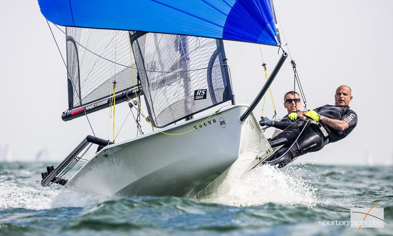Volvo Noble Marine RS800 Nationals at Hayling Island - photo © Alex Irwin / www.sportography.tv