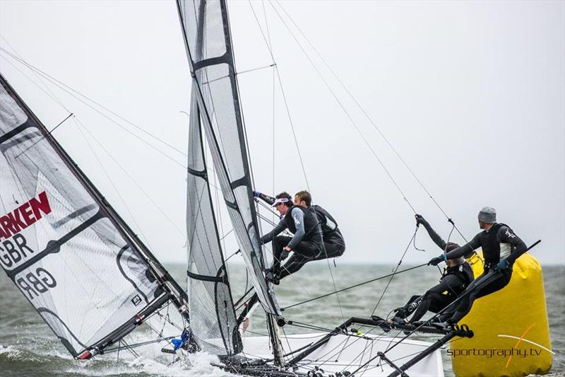 RS700 and RS800 Volvo Noble Marine Nationals at Stokes Bay day 1 - photo © Alex & David Irwin / www.sportography.tv