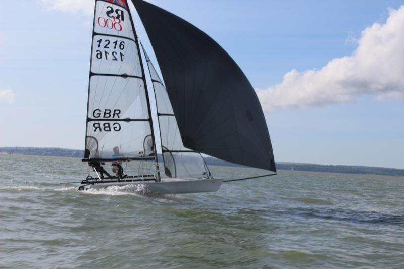 RS700 and RS800 Volvo Noble Marine Nationals at Stokes Bay day 3 - photo © Ollie Vennis-Ozanne
